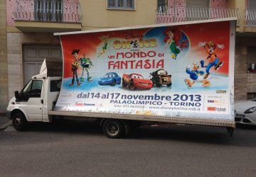 camion vela disney on ice