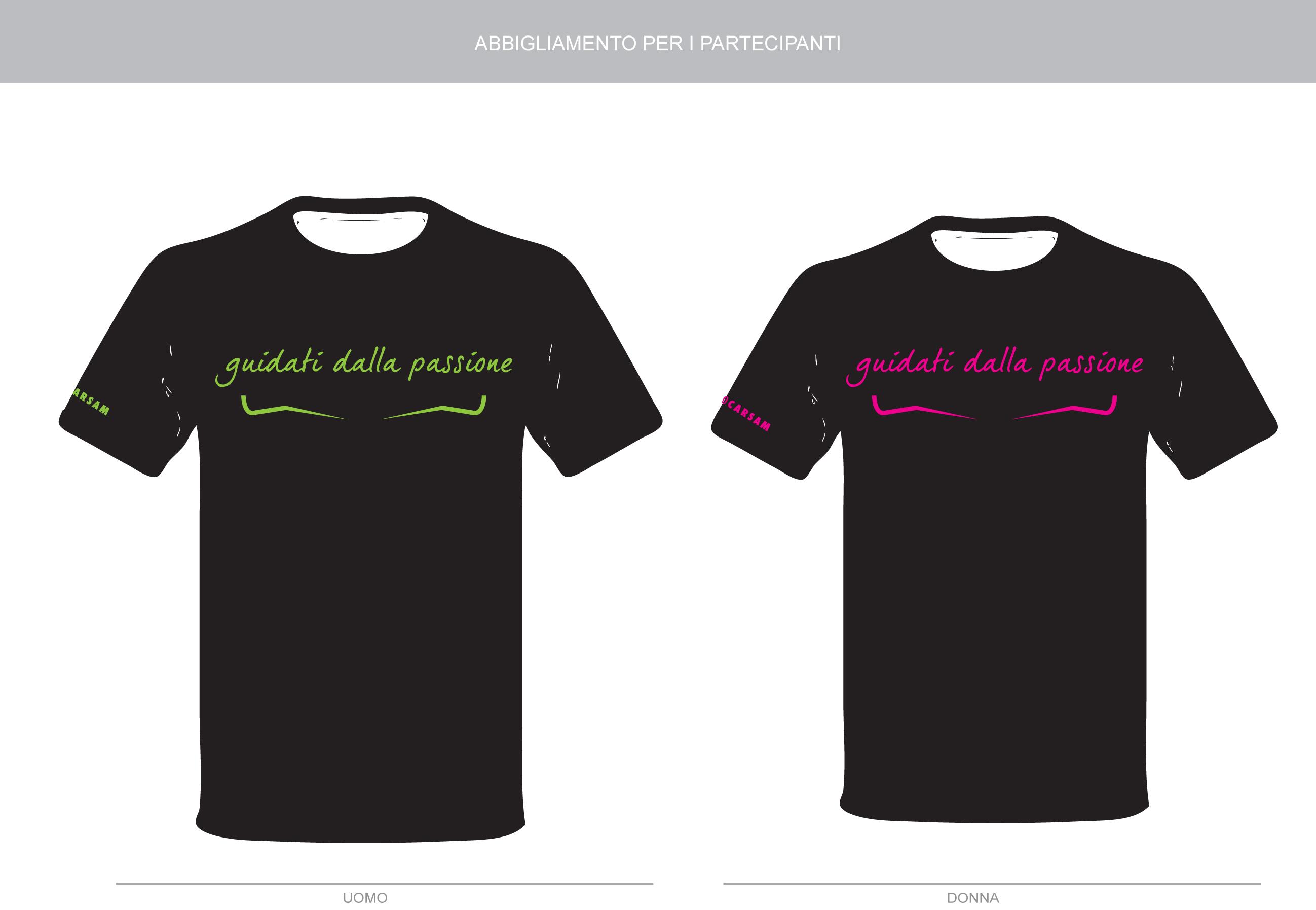 Abbigliamento personalizzato t-shirt Carsam Chivasso-Torino 49bc301cf444
