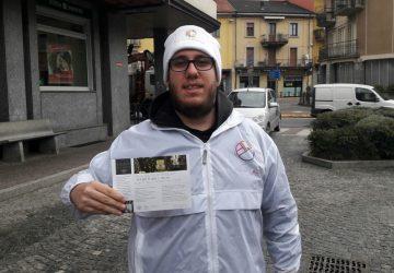 Volantinaggio Verbania per Segreti Walser