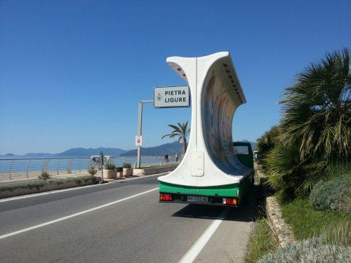 camion vela regione liguria