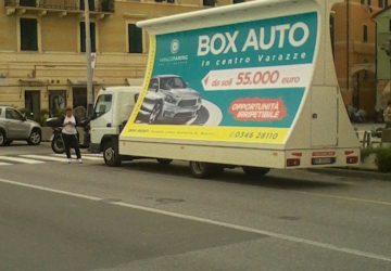 Camion vela a Varazze per Varazze Parcking