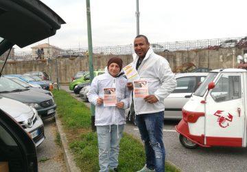Volantinaggio a Cremona per La Fenice