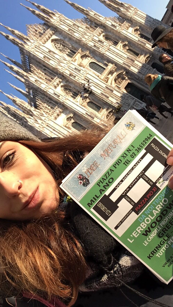 Hostess a Milano per Idee Naturali